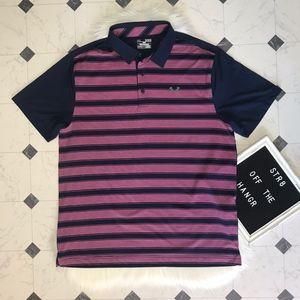 Under Armour striped heatgear loose shirt size XL
